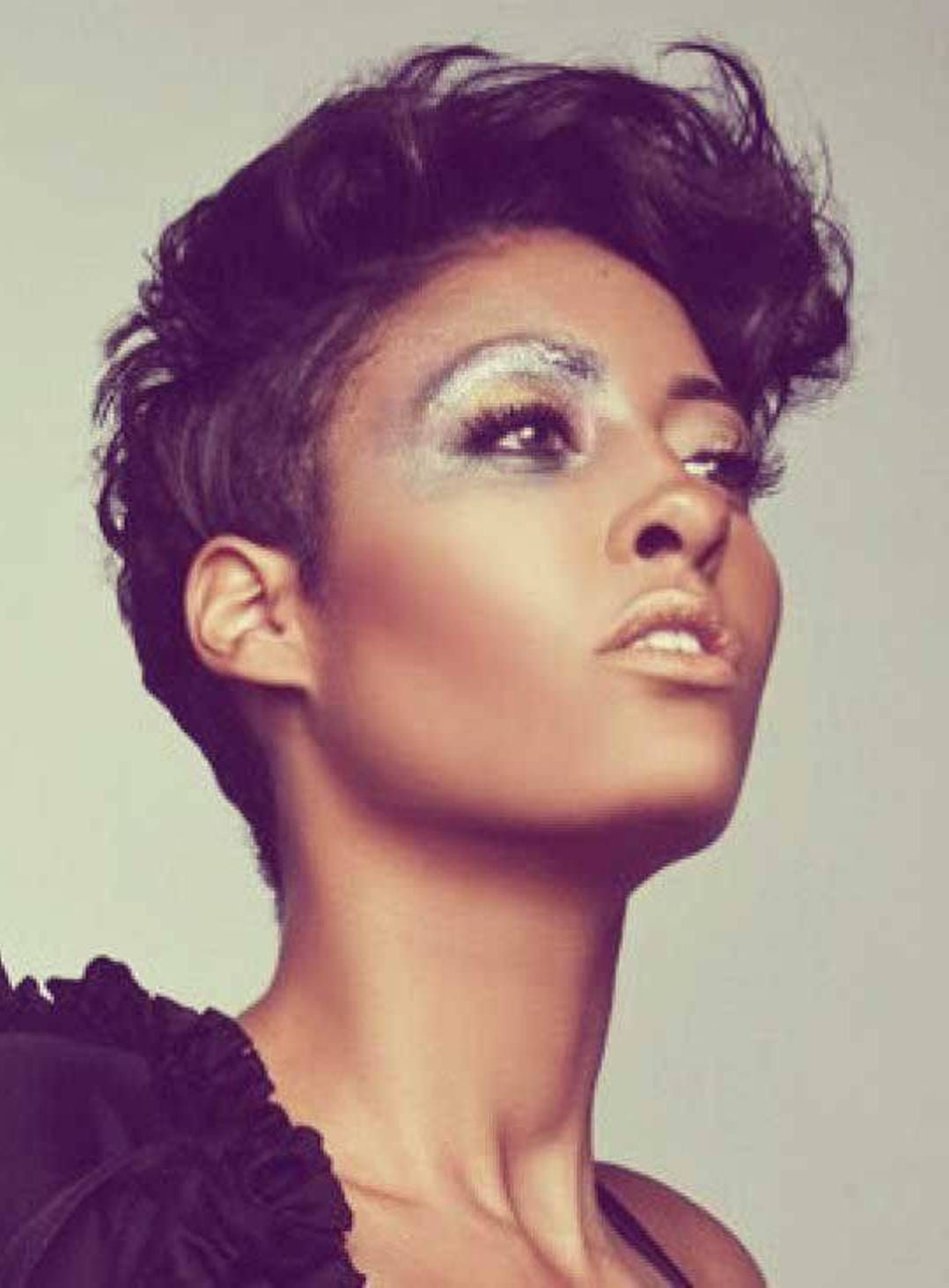 Short Pixie Hairstyles African American Women