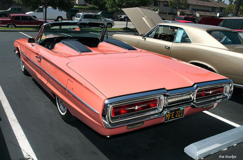 1964 Ford Thunderbird roadster – salmon – rvl