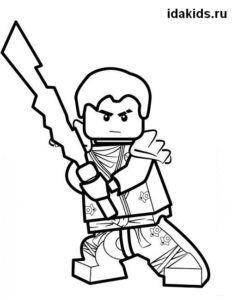 Раскраска Ниндзяго Лего Ниндзя Го: распечатать бесплатно ...