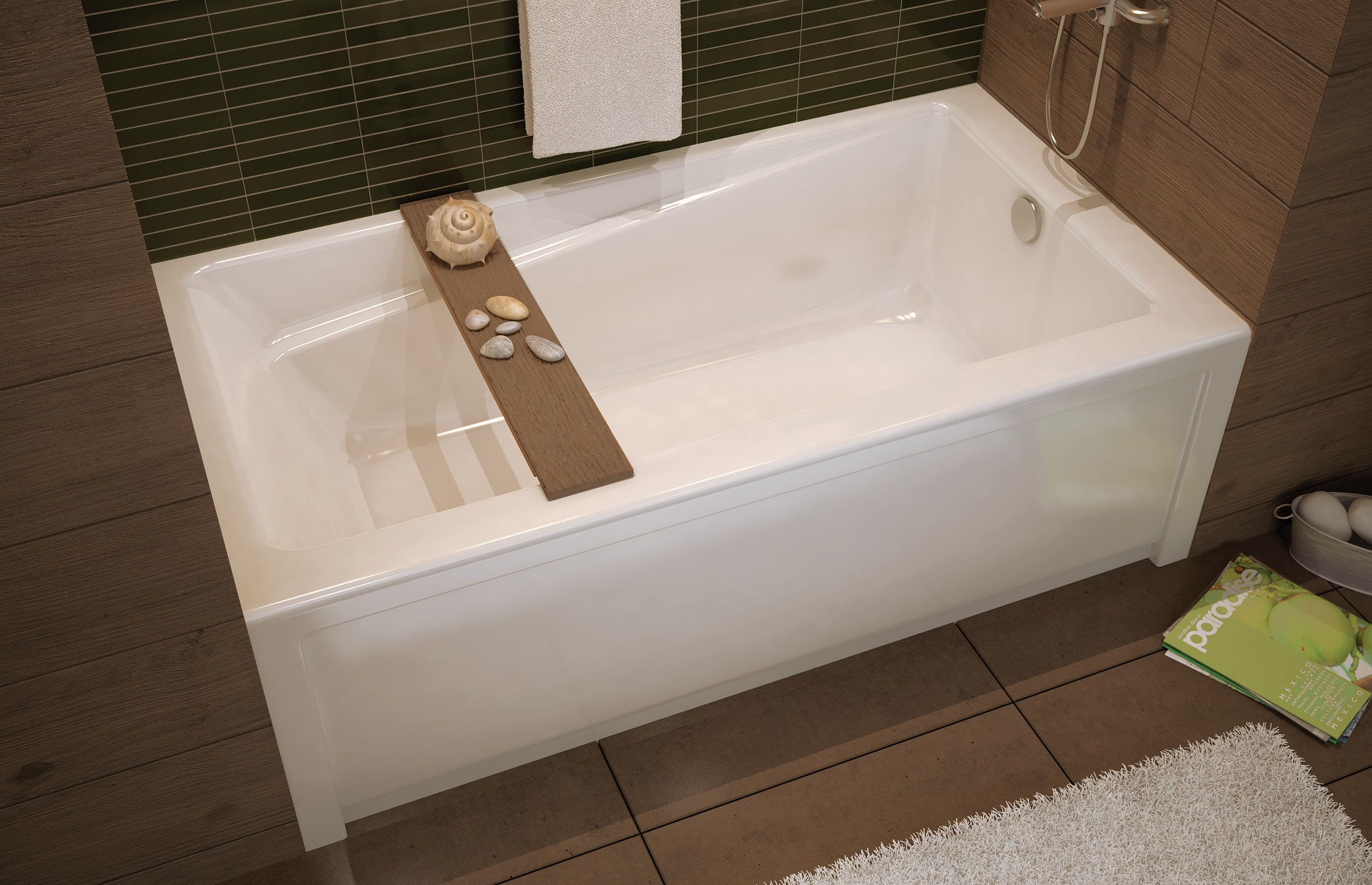 Exhibit Ifs Alcove Bathtub Maax Professional Simple