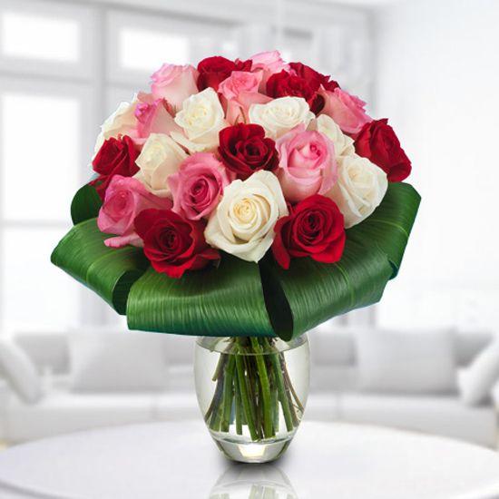 ramo de rosas precioso enviarflores rosas - Fotos De Ramos De Flores Preciosas