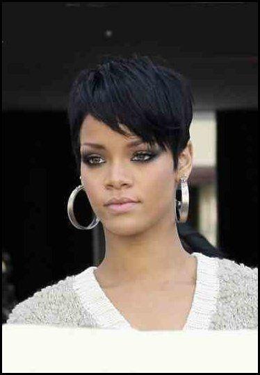 Rihanna Frisur Rihanna Frisuren – Frisurentrend Kurze Haare Bei