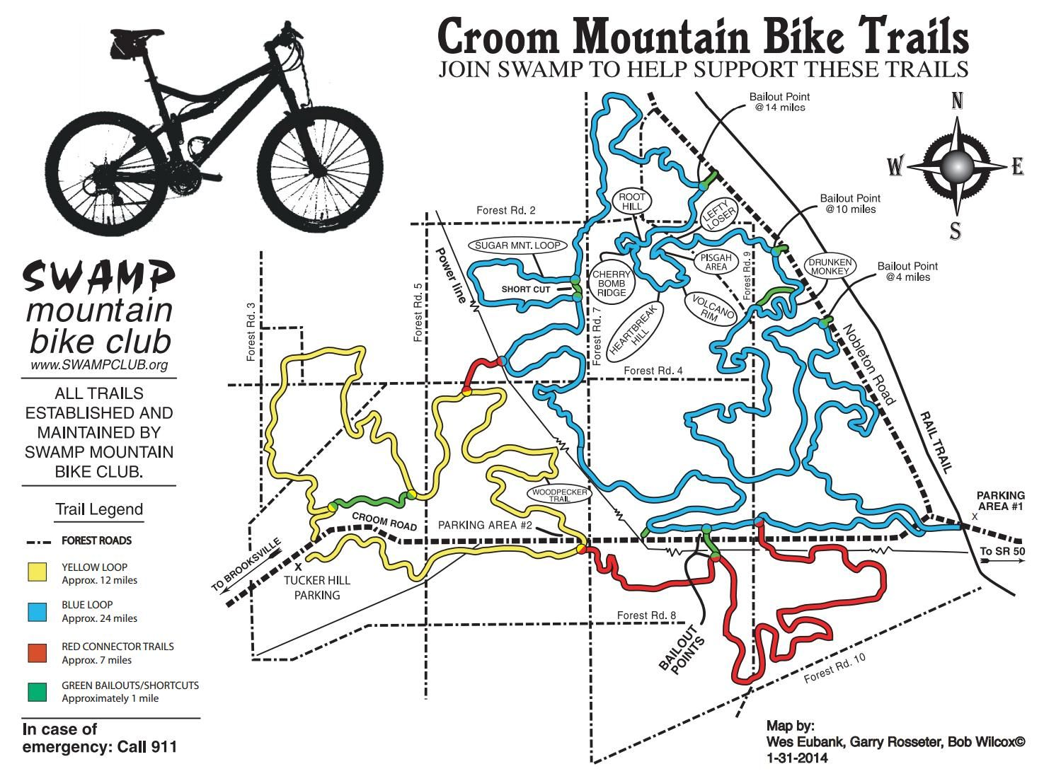Croom Off Road Bike Trails Withlacoochee State Forest Bike