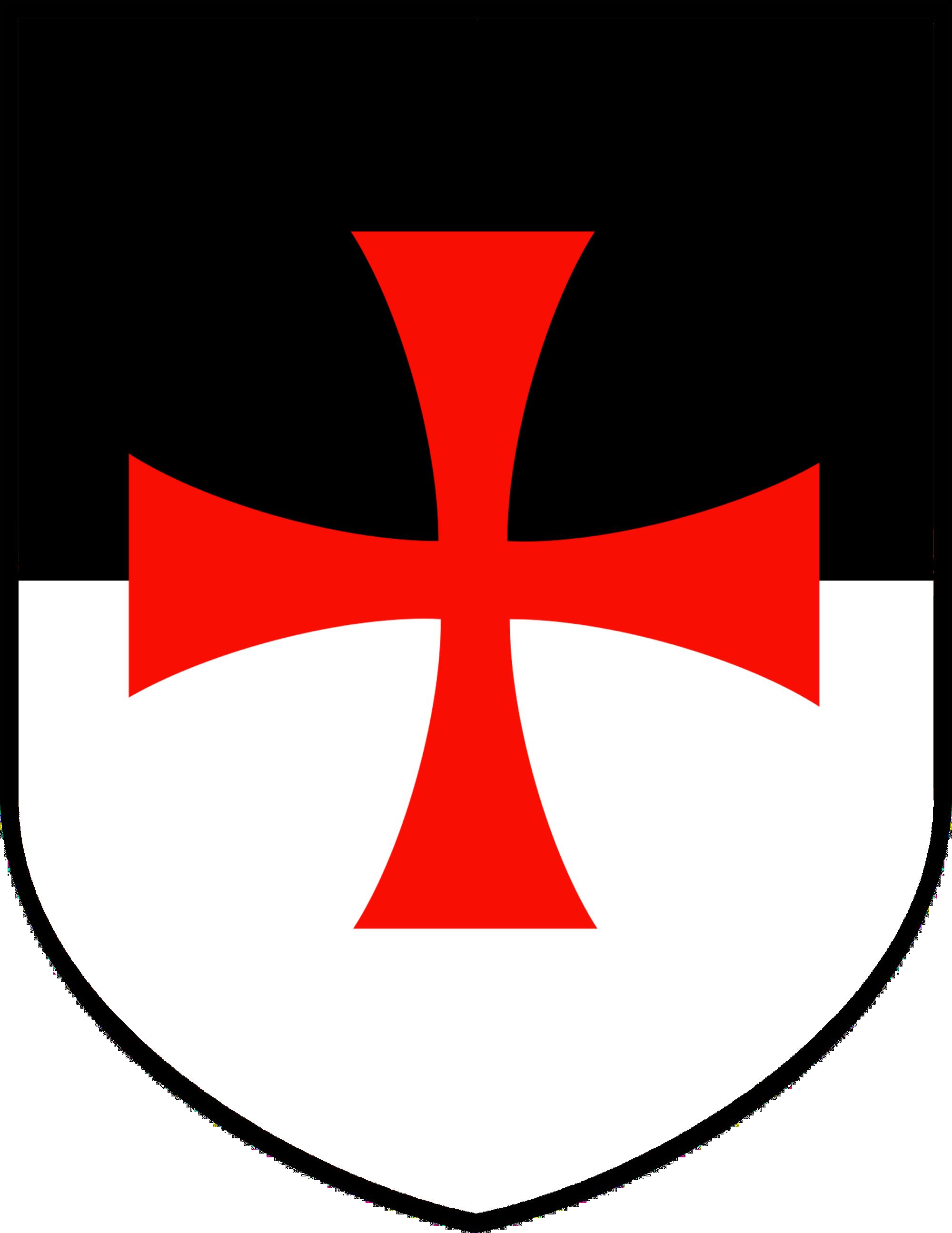 Knights Templar Bezant Shield by williammarshalstore