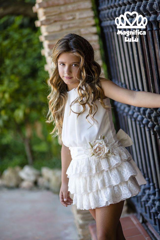 257e4e050 Vestidos de fiesta para niña de Magnífica Lulu | Fashion for kids ...