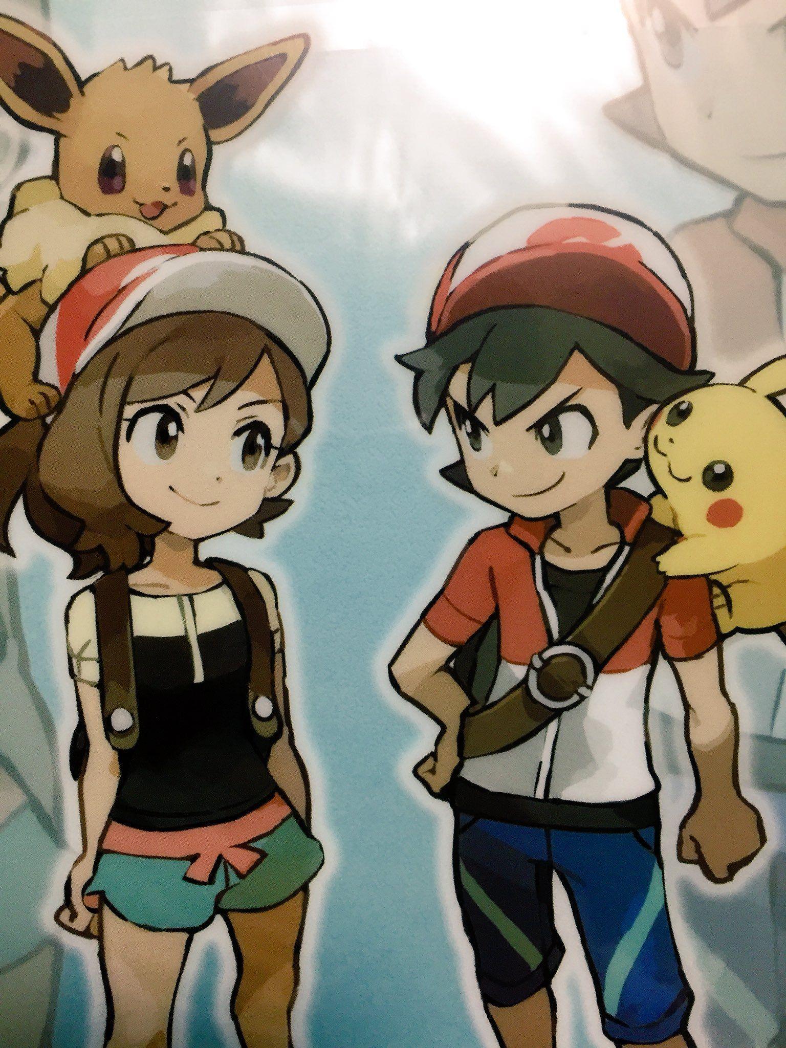 Pkmn Let S Go Kanto S New Trainers Pokemon Game Characters Pokemon Characters Cute Pokemon