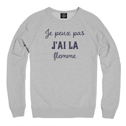nouveaux styles 32c97 cf926 Sweat Homme JE PEUX PAS J'AI LA FLEMME | Pull en 2019 ...