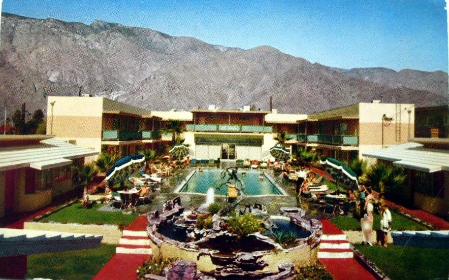 Nat Reed S Palm Spring Modern From L A Times Blog Obsessed With Maps Pinterest Springs And Map