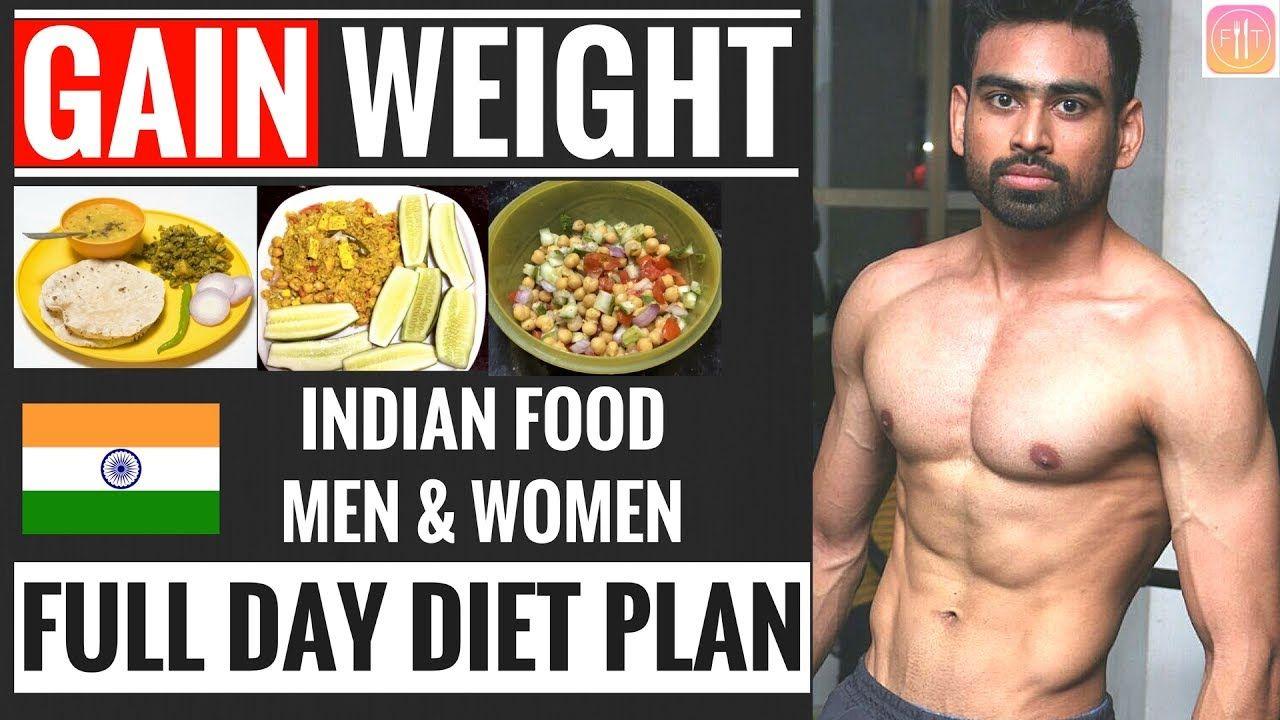 Full Day Diet Plan To Gain Weight For Beginners Men Women How