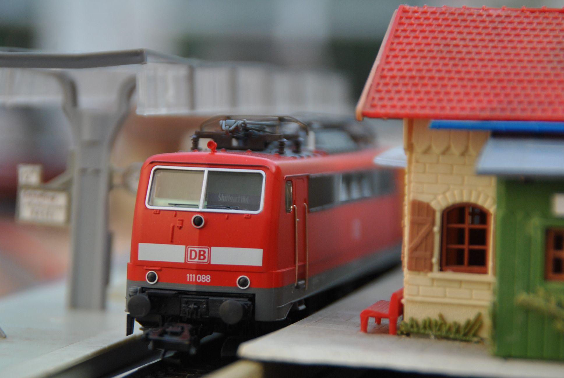 Märklin H0 scale  DB Regio AG Baden-Württemberg class 111 general-purpose electric locomotive in Era VI.