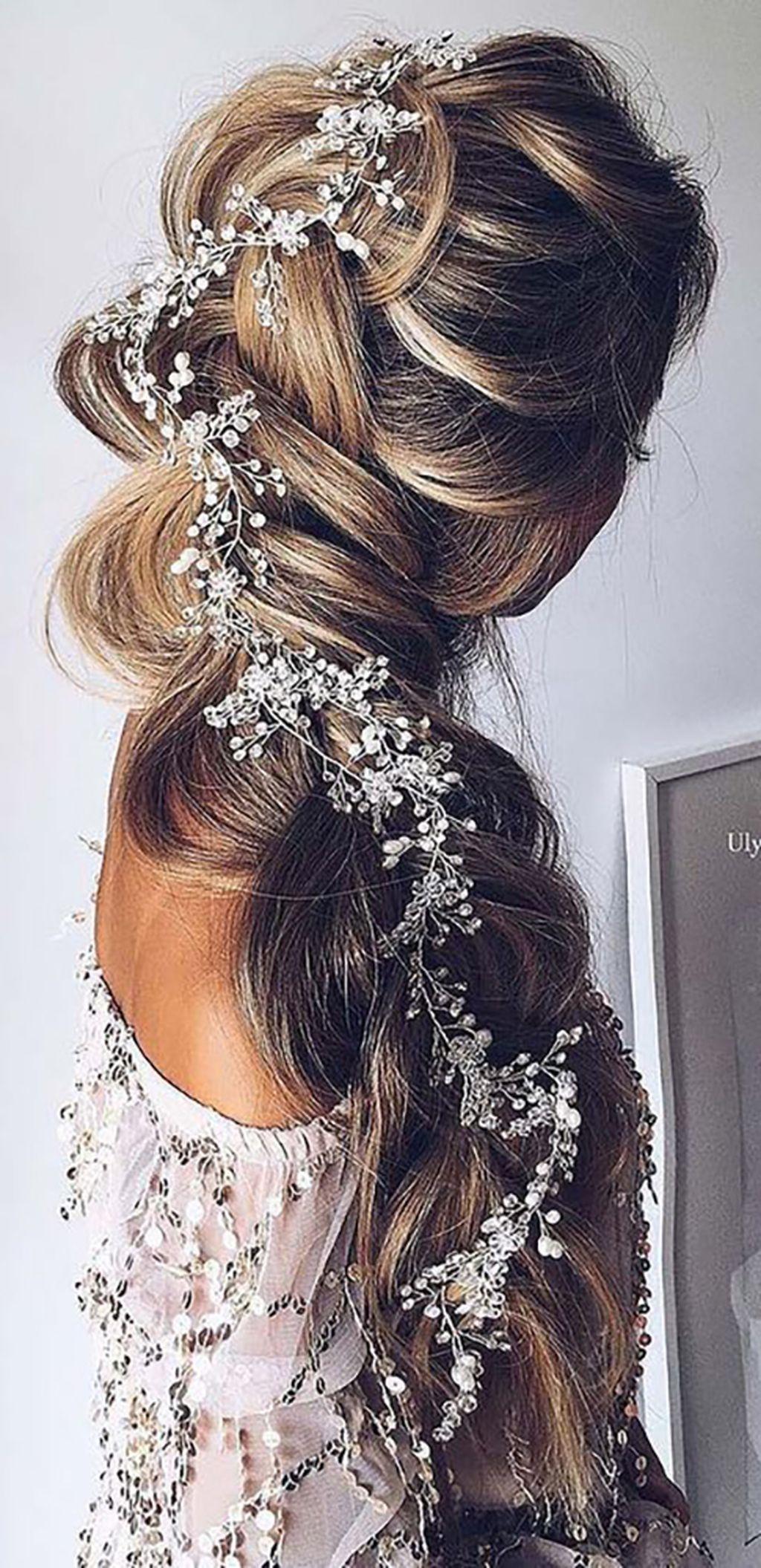 Cool 135 Stunning Bohemian Wedding Hairstyle Ideas Every Women