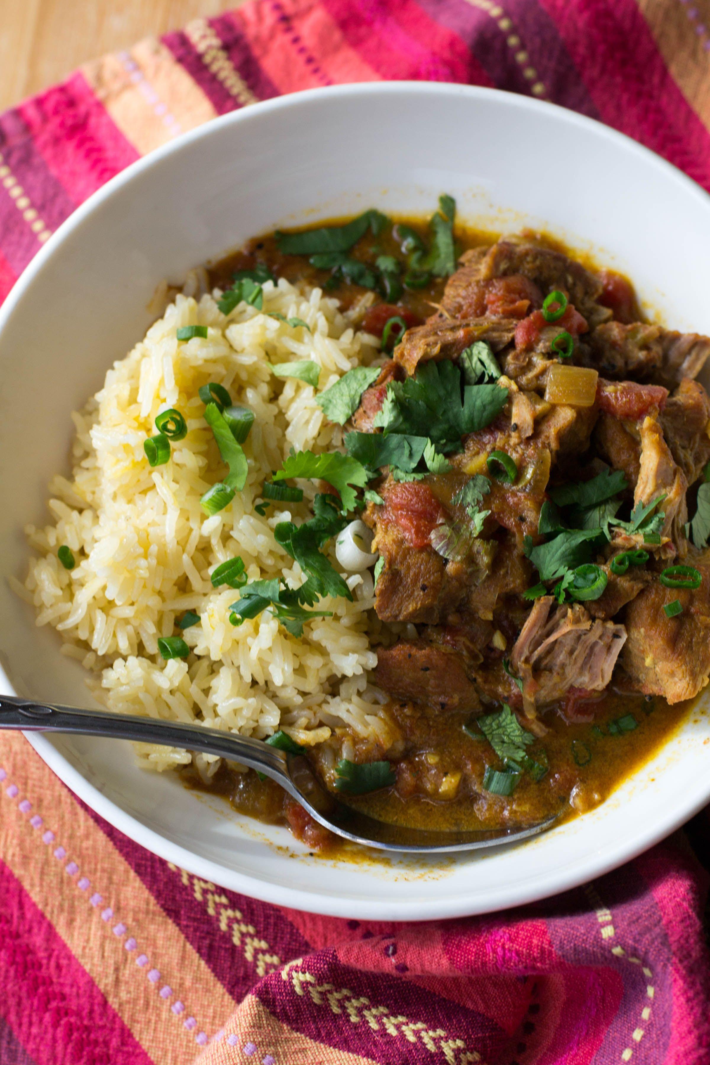 Crock Pot Coconut Pork Curry Pork Curry Curry Recipes
