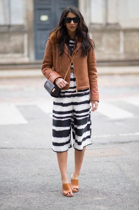 9def47c35c6 Kayla Seah of Not Your Standard in striped culottes