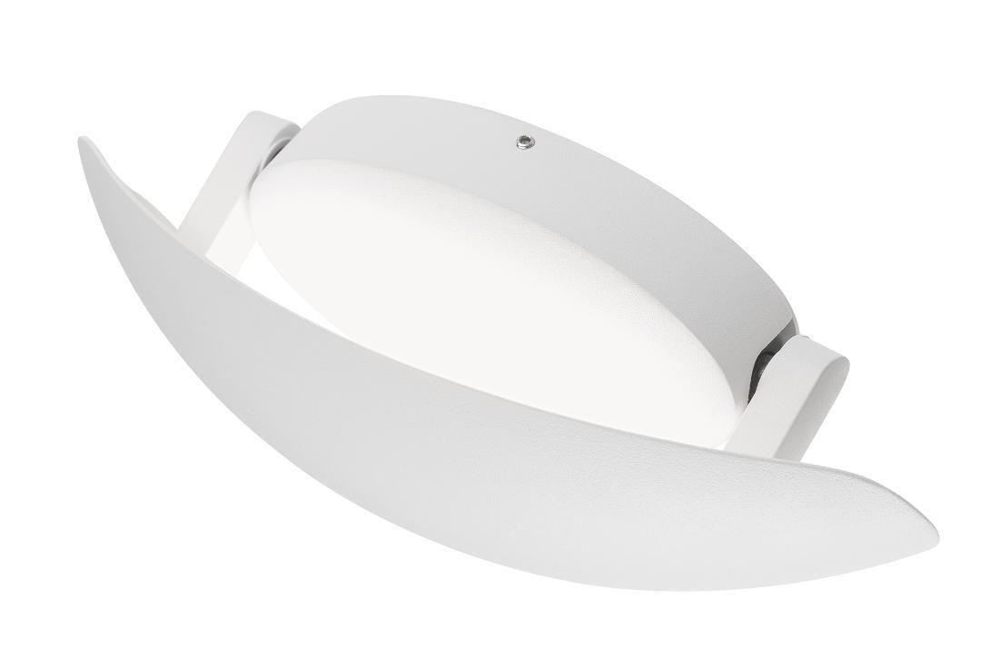 Twist applique per esterno ip led w bianco o marrone parabola