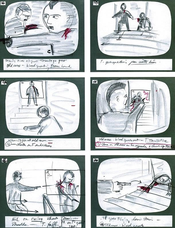 Martin-Scorsese'S-Storyboards-From-The-'Taxi-Driver'-Www