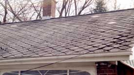 Asbestos Roofs Roof Roof Shingles Home Inspector