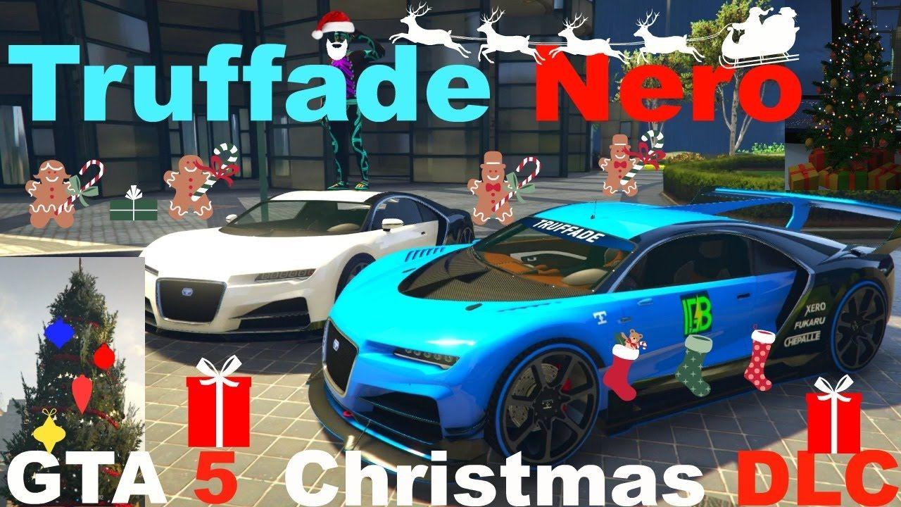 GTA 5 ONLINE Christmas DLC, Truffade Nero, Bugatti Chiron, Bennys ...