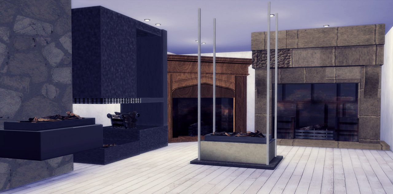 My Sims 4 Blog: TS3 Marcussims91 Industrial Rack, Luna Fireplace ...