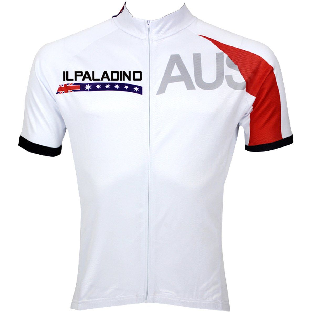 42efe7e93 ILPALADINO Australia Simple White Man s Short-sleeve Cycling Jersey Team  Jacket T-shirt Summer Spring Autumn Clothes Sportswear Racing Apparel  NO.053 ...