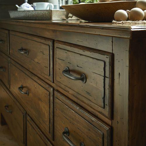 Mid Century Bassett Dresser With Laminate Top Mid Century