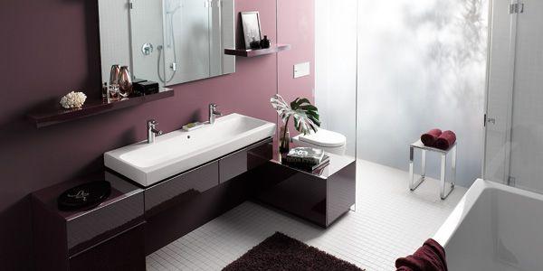 Schrank als Abtrennung zw. WC und Waschtisch