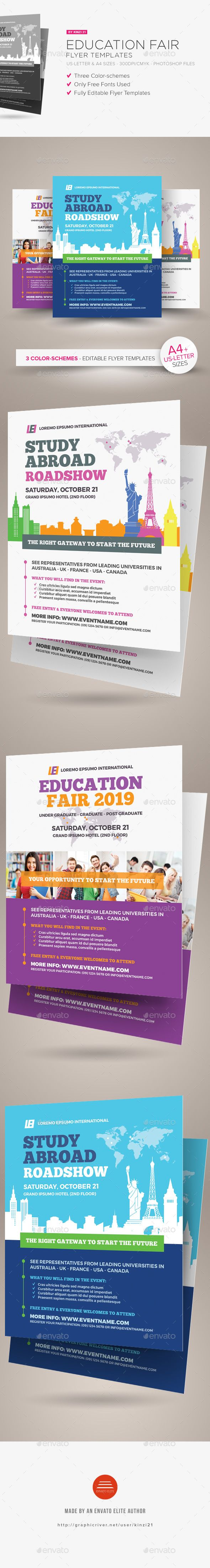 Education Fair Flyer Templates Corporate Flyers Best Flyer