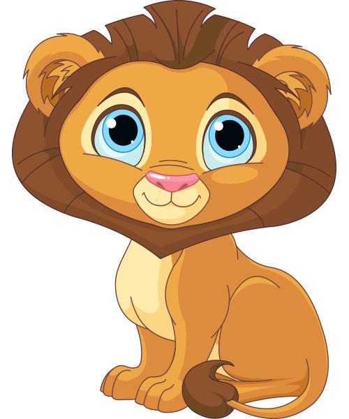Charming Lion Cartoon Lion Cute Lion Lion Pictures