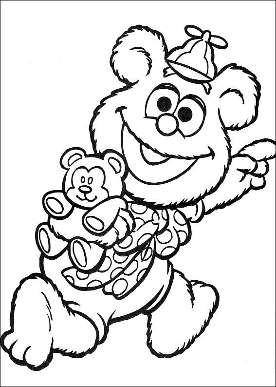 Muppets Coloring Pages 35 Bear Coloring Pages Baby Coloring Pages Coloring Books