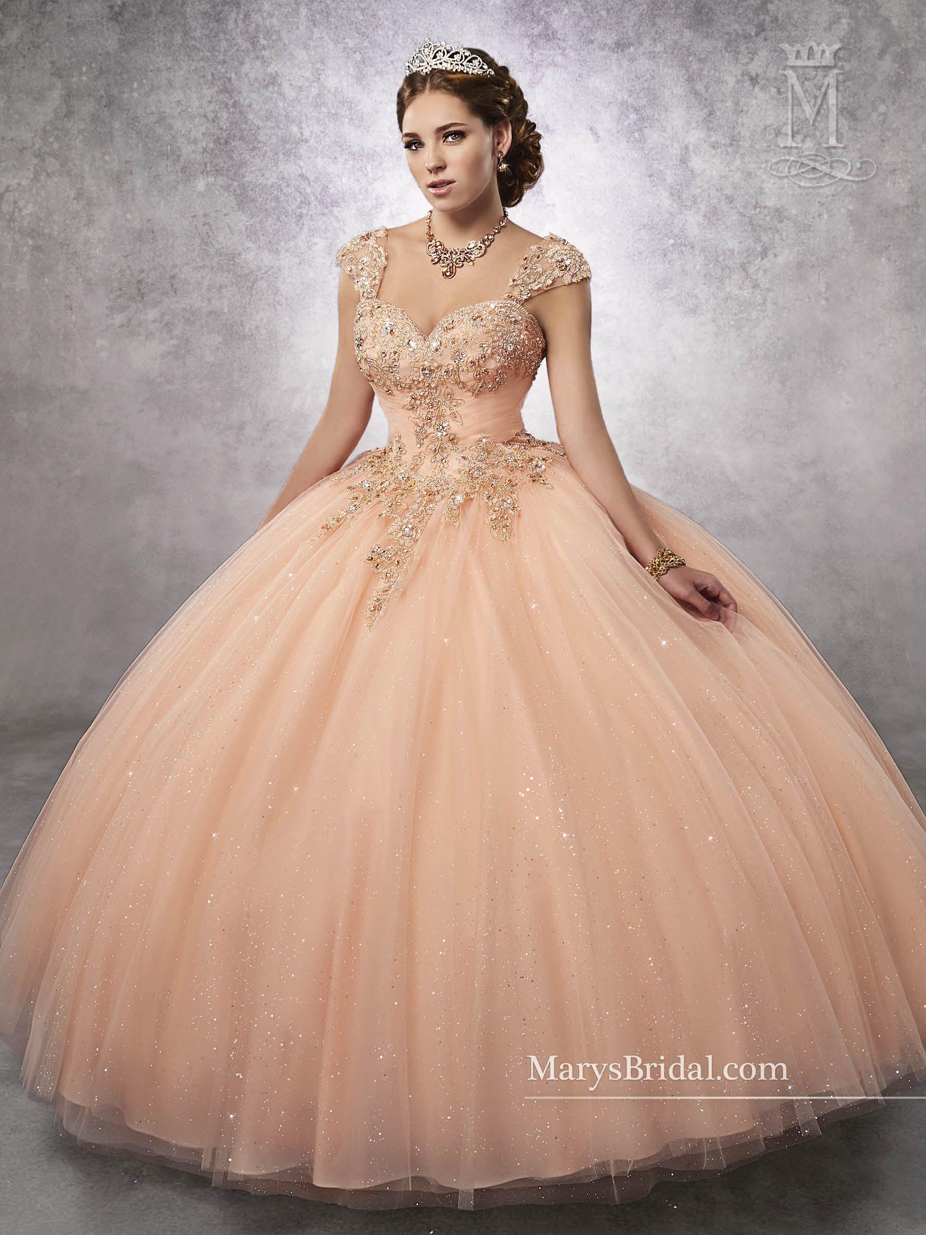 f40ab86c0 Vestidos de gala para quinceañera 2017 Marys Bridal. Mary s style ID 4Q491