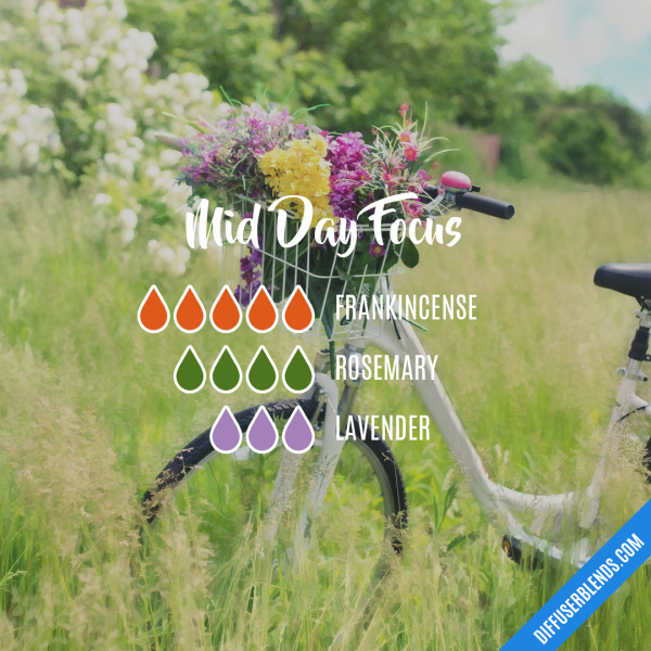 Mid Day Focus - Essential Oil Diffuser Blend