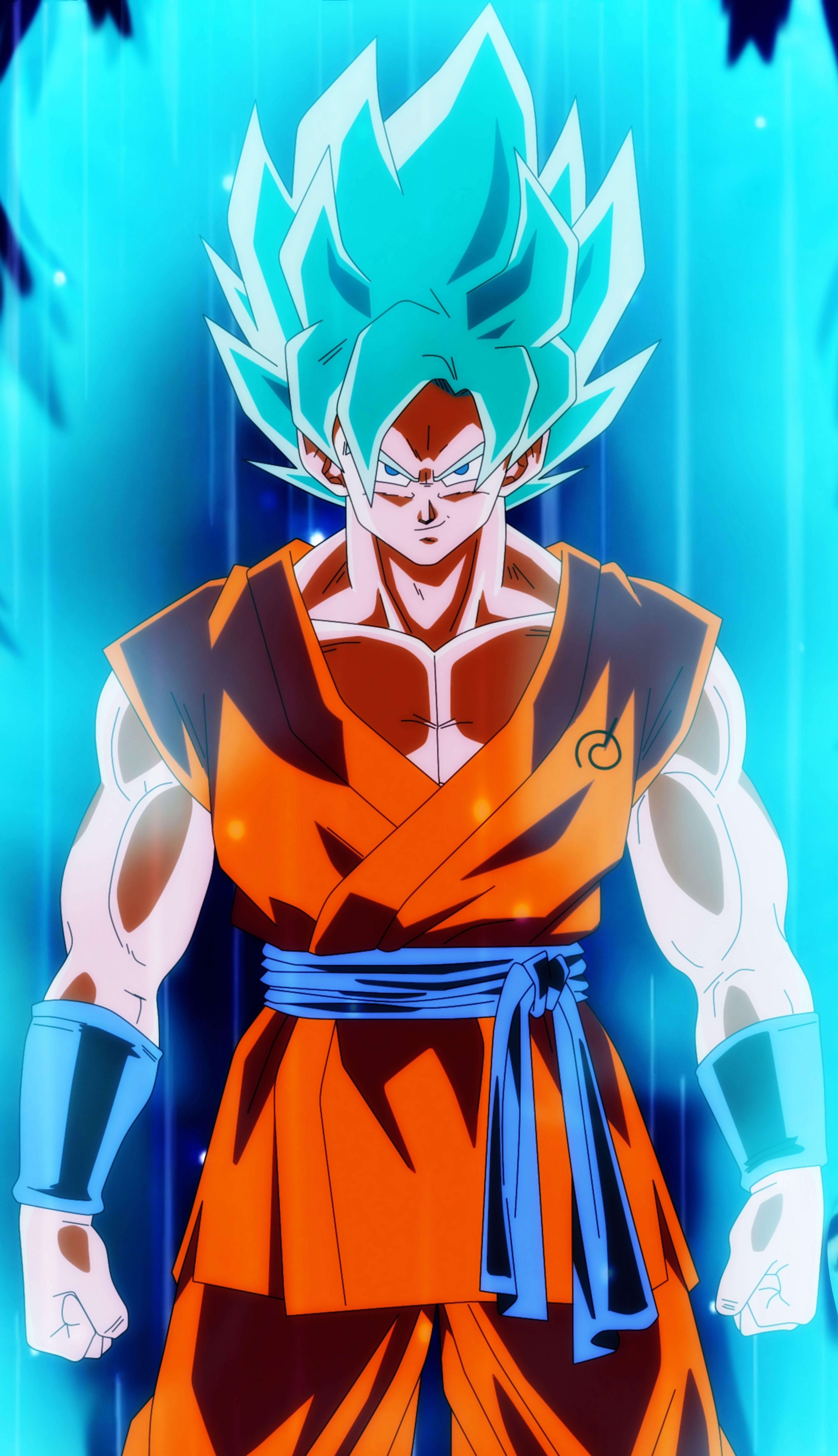 Goku SSJ Blue (Universo 7) Goku super saiyan blue