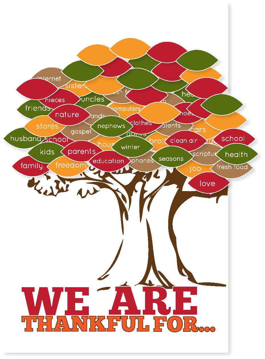 photograph relating to Thankful Tree Printable named Thankgiving Tree Totally free Printable Crafts Thanksgiving