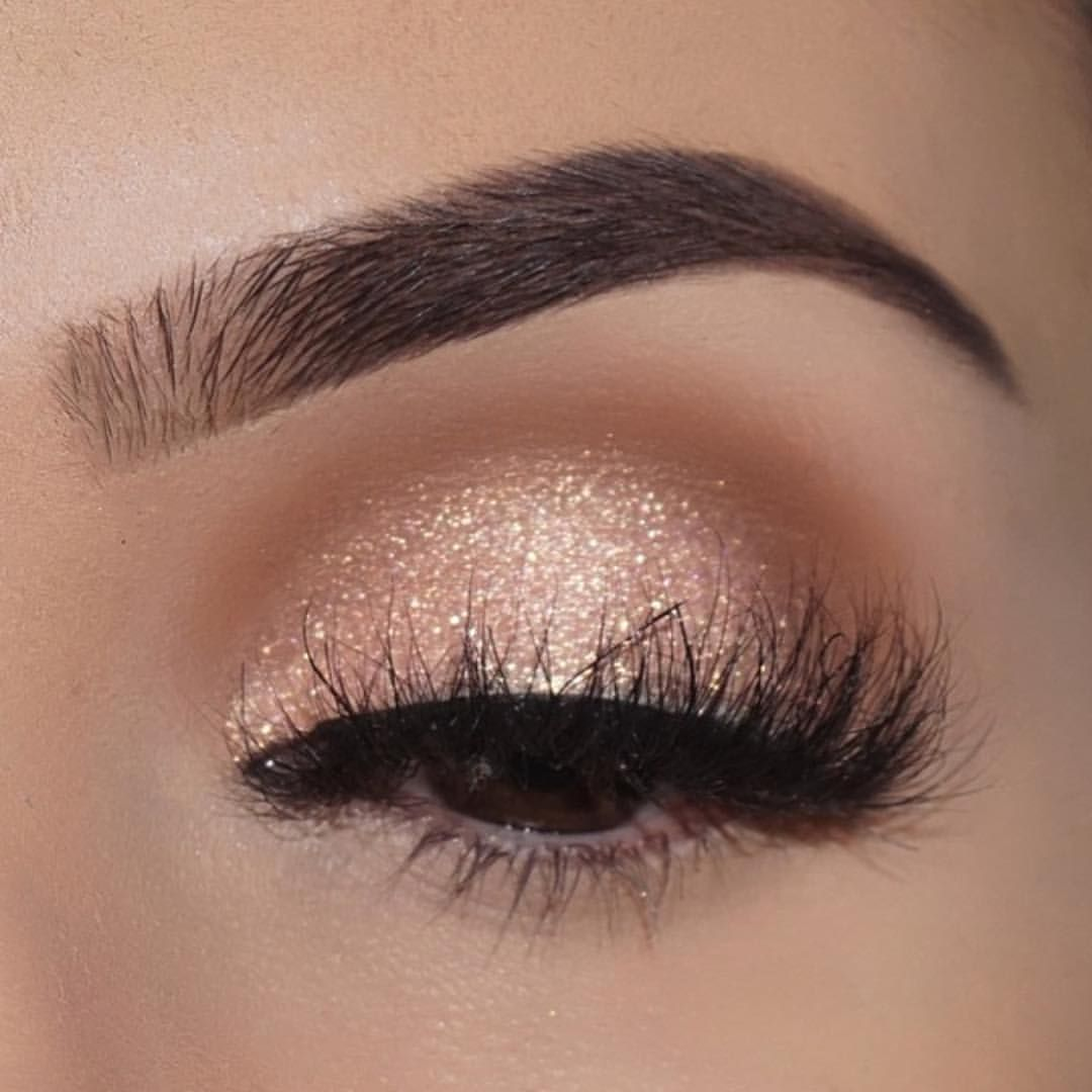 Simple Glitter Makeup | Makeup | Makeup, Eye Makeup ...