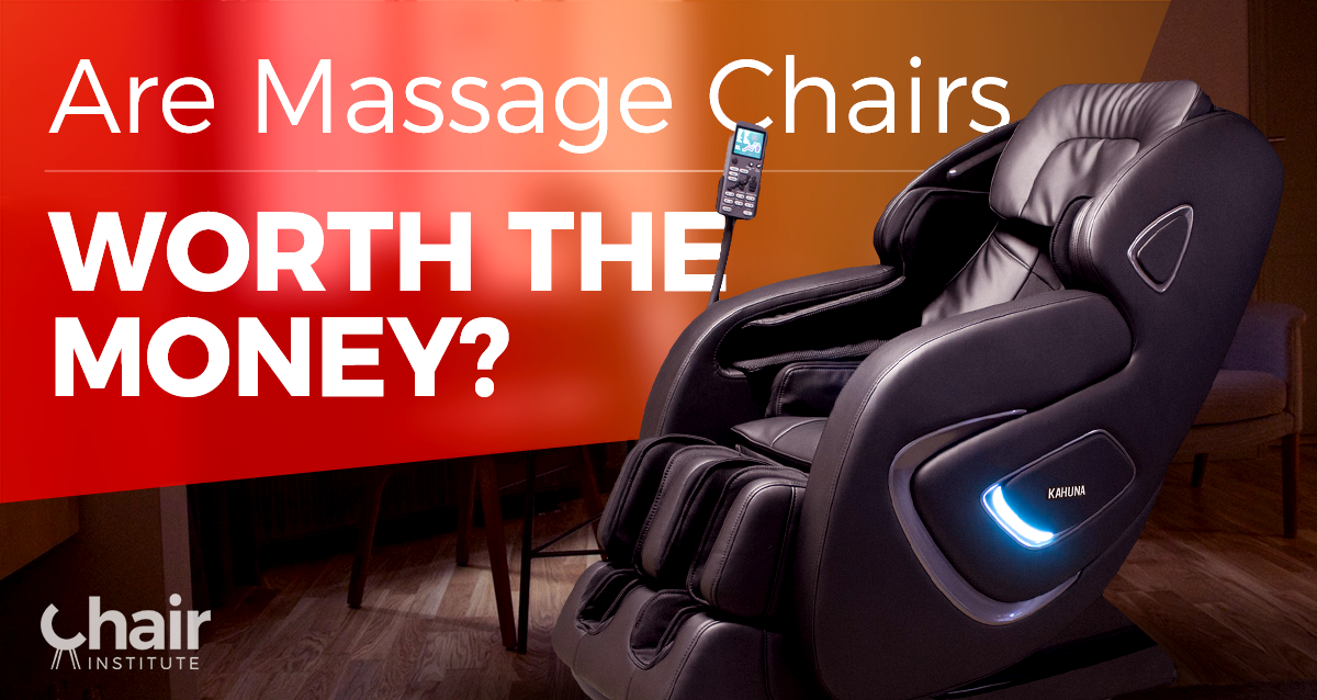 Are massage chairs worth the money? Massage chairs