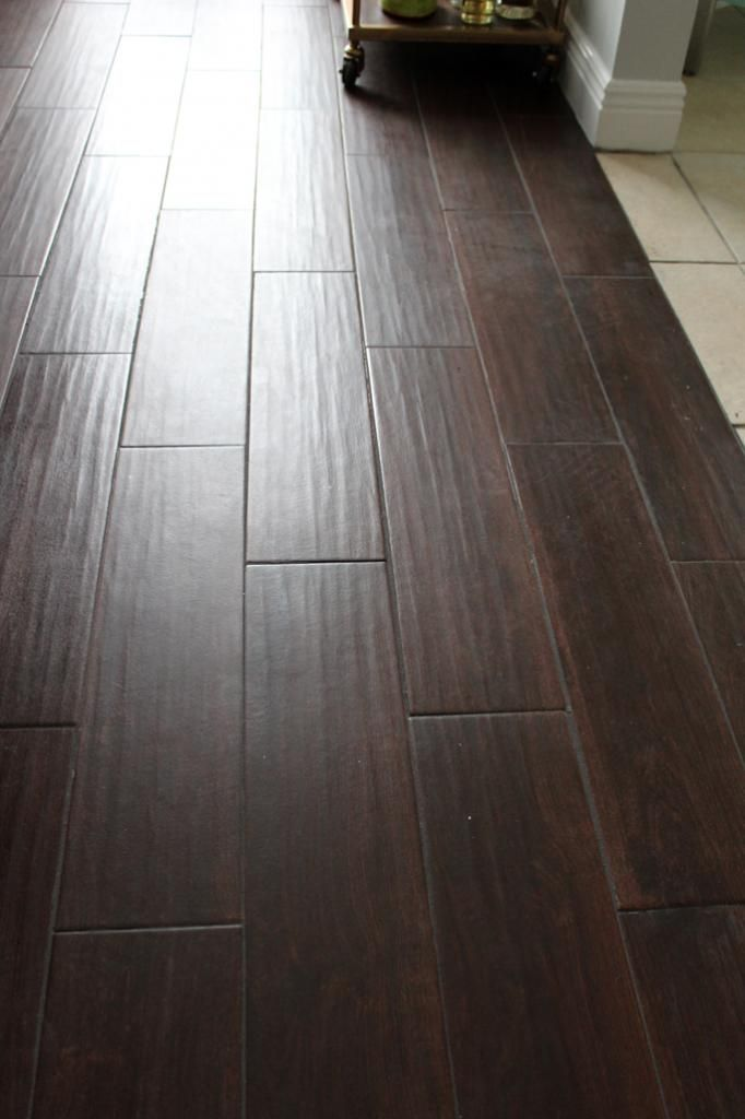 Fashion at Forty | Ceramic wood floors