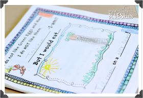 First Grade Blue Skies: Read Across America {FREEBIES} and Fun!