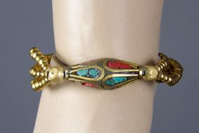 Stone Beads and Wax Cord Jewelry - wow world of wonder