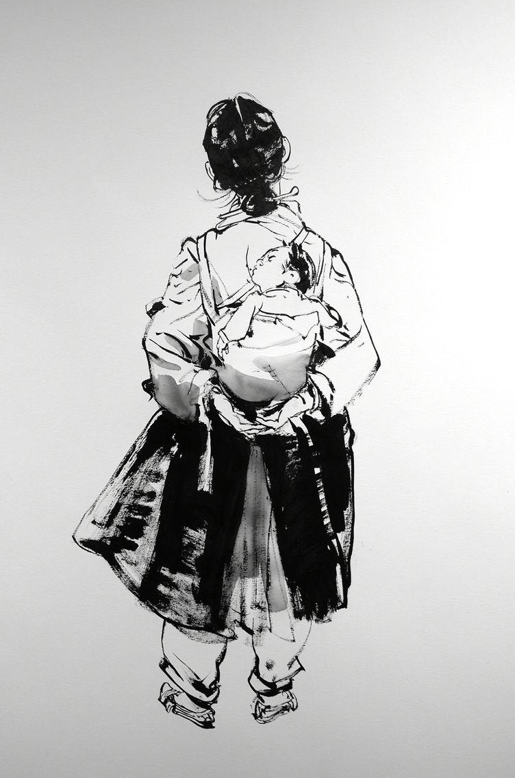 Kim Jung Gi live drawing #kimjunggi #illustration #sketch #drawing #livedemo