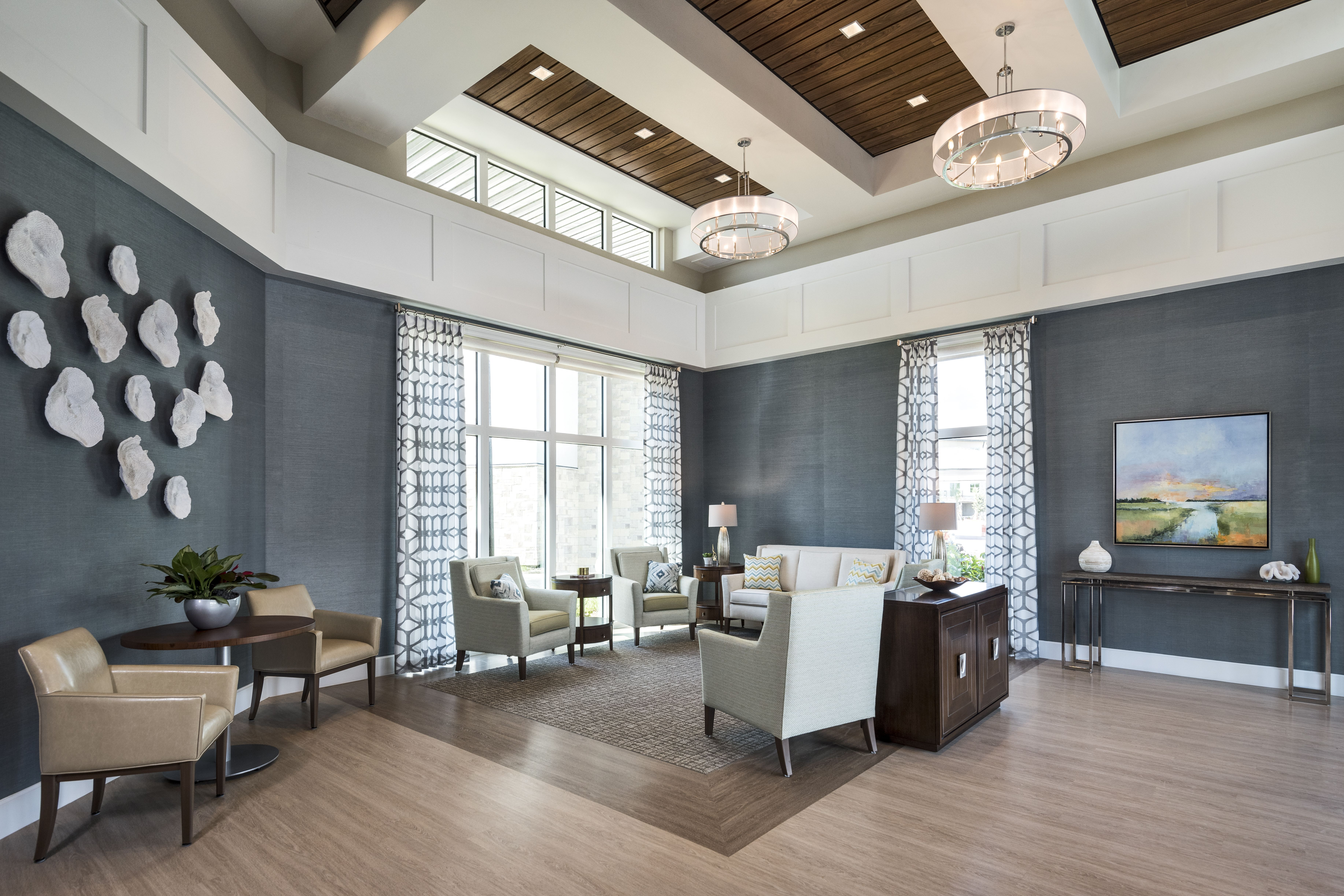 This Elegantly Decorated Entryway Was Designed By Wegman Design