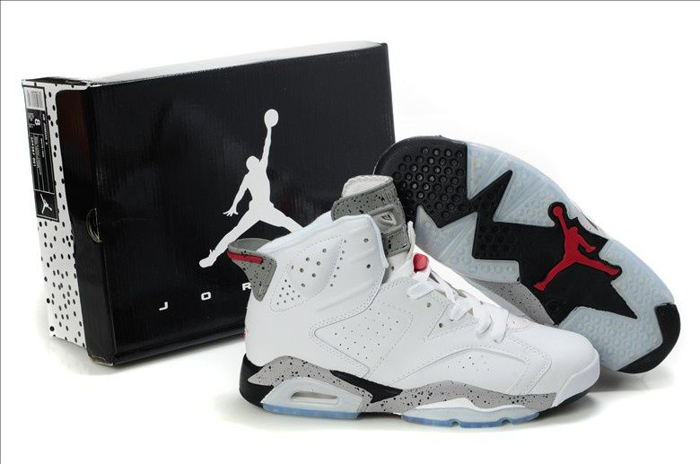 size 40 369d2 008fe Every man should have at least one pair of all white or almost all white  basketball shoes - Mens basketball shoes Jordan 6 Olympic 2012 White White  Grey