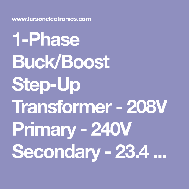 3 Phase Buck Boost Transformer Wiring Diagram from i.pinimg.com
