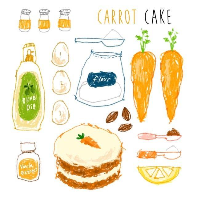 김혜빈 @moreparsley #carrotcake ! yum...Instagram photo | Websta (Webstagram)