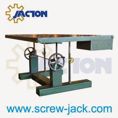 Building Crank Handle Linear Threaded Lifting System Design Wheel