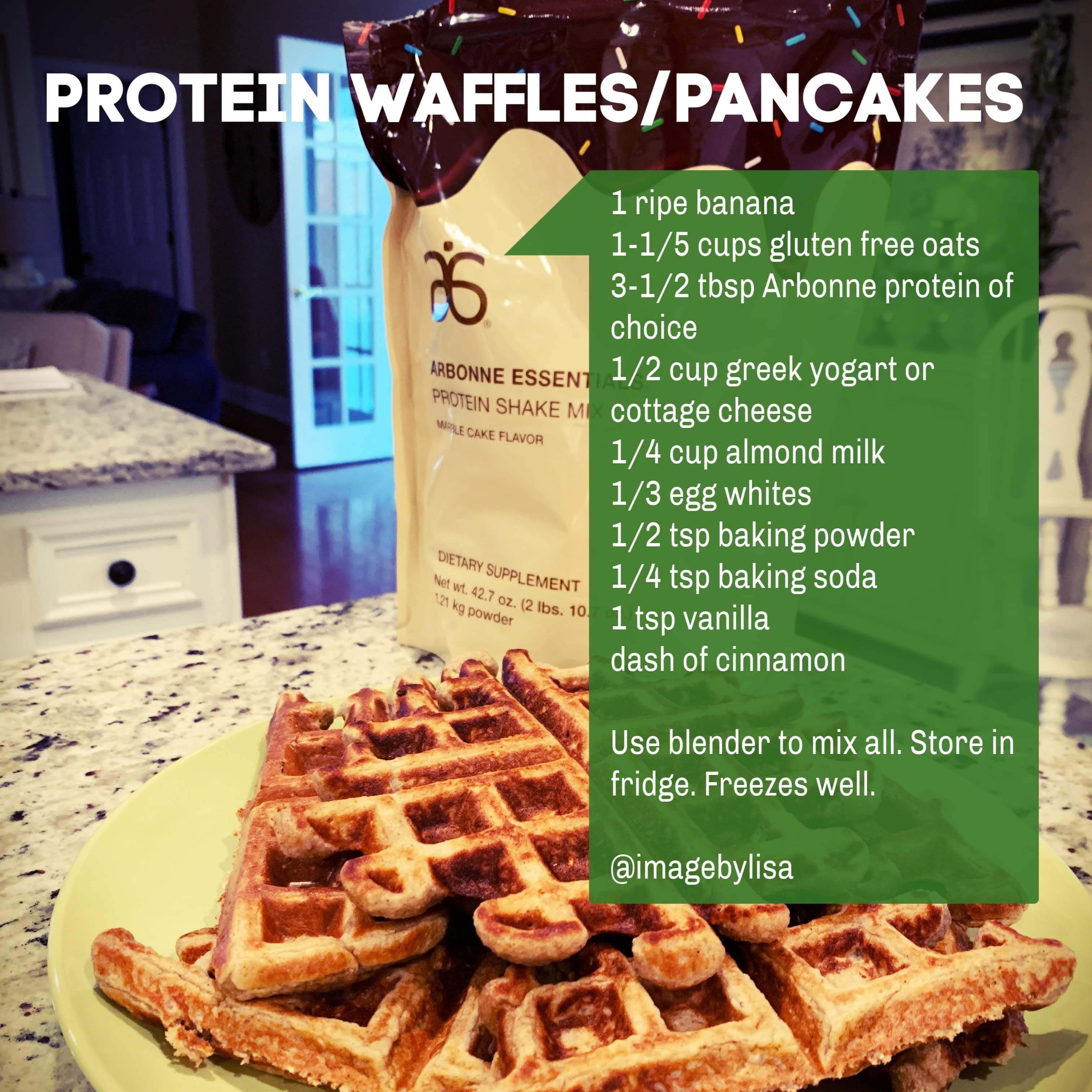 Protein Waffles Pancakes Proteinpowderpancakes Arbonne Vegan Protein Powders Used To Make The Yum Arbonne Recipes Vegan Protein Powder Arbonne Detox Recipes