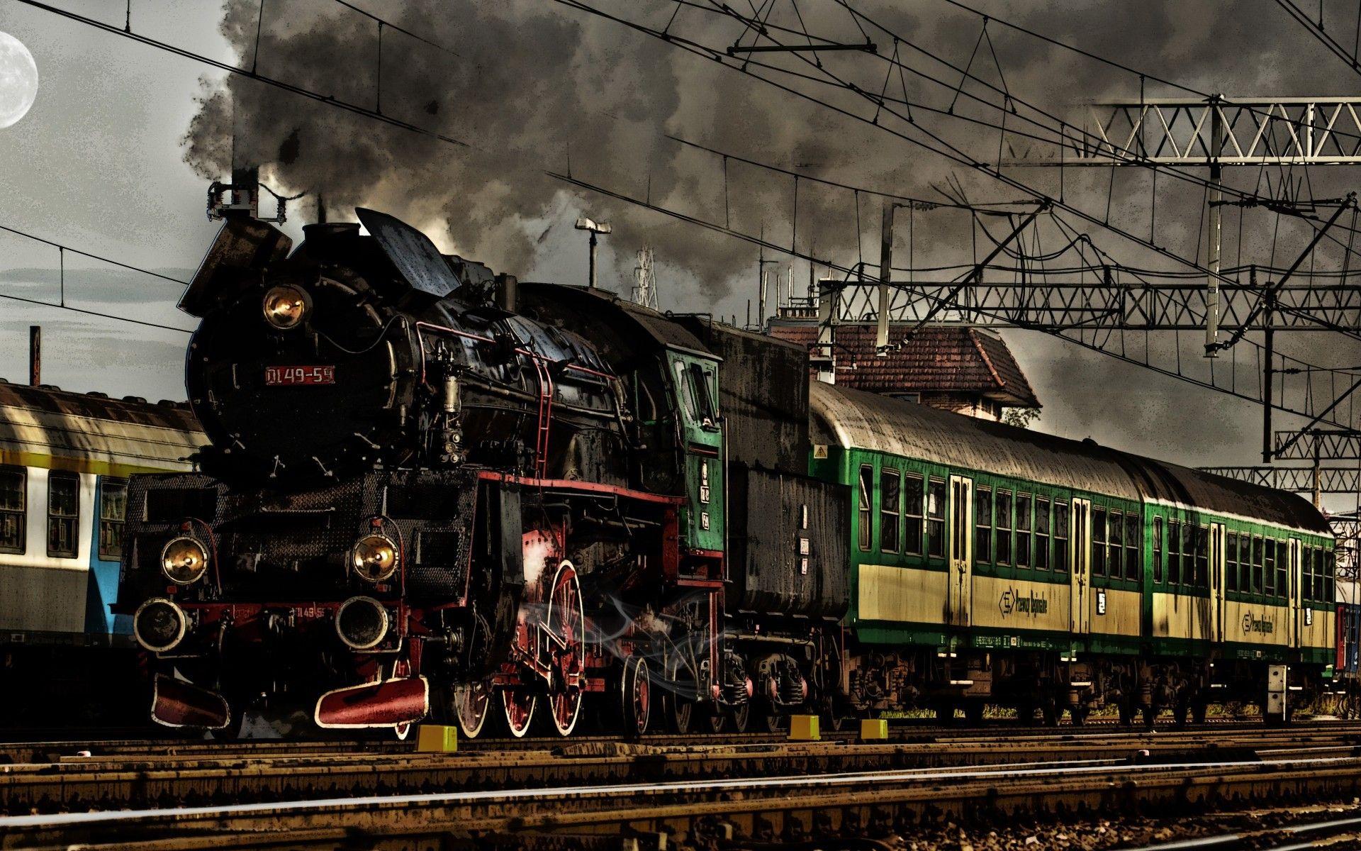 Hd wallpaper editor - 5416257 Steam Train Hd Wallpapers Jpg 1920 1200