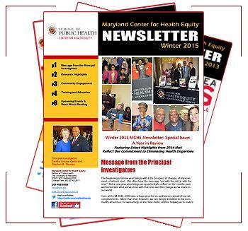 Mche Newsletters Umd School Of Public Health Health Newsletter