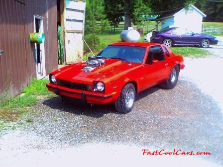 Supercharged Dual Quad V8 Chevy Monza Muscle Cars Chevrolet