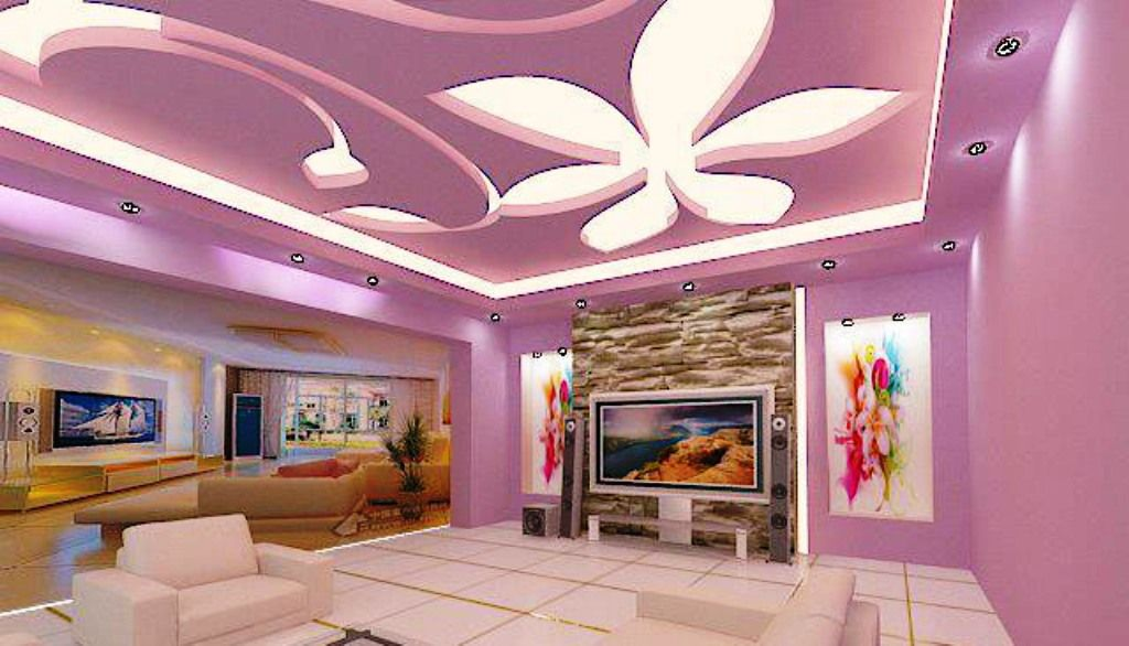 Funky Living Room Ceiling Ideas Inspiration - Living Room Designs ...