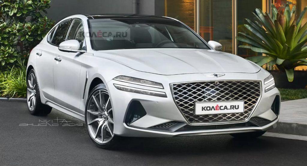 Facelifted 2021 Genesis G70 Could Look Just Like This In 2020 Genesis Car Manufacturers Sports Sedan
