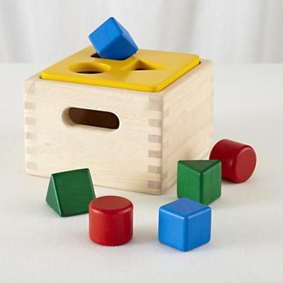 Kids Toys: Colorful Shape Sorter Box Toy in Baby Toys
